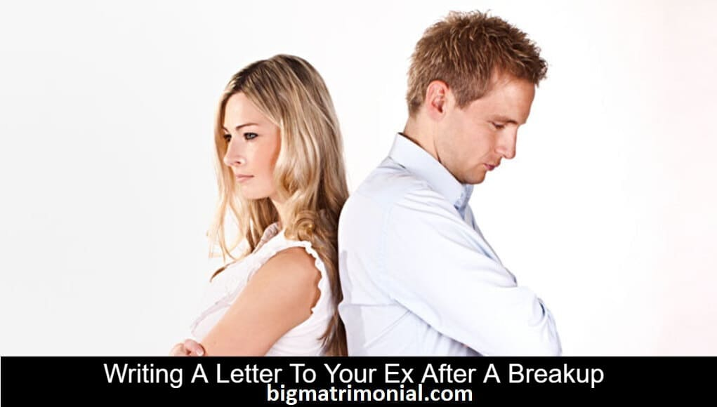 Writing a letter after a break up
