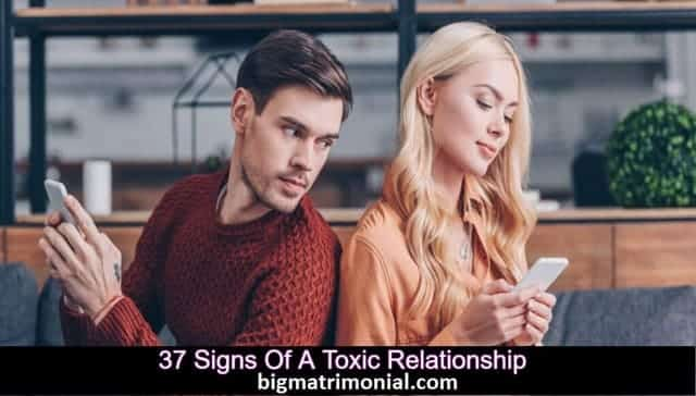 signs of a toxic relationship