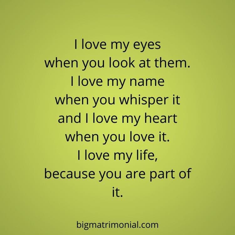 For love him romantic poems short 10+ Heart