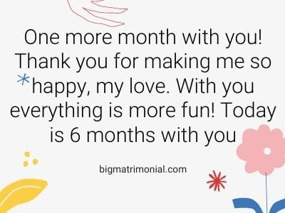 Get anniversary month a what to 6 for 17 Amazing
