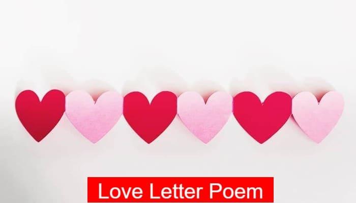 Love Letter Poem