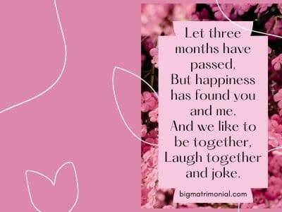 Anniversary of month dating 3 CALCULLA