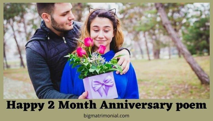 Happy 2 Month Anniversary poem