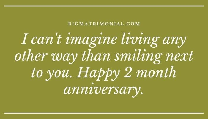 To 2 anniversary for what month give girlfriend your Heart Touching