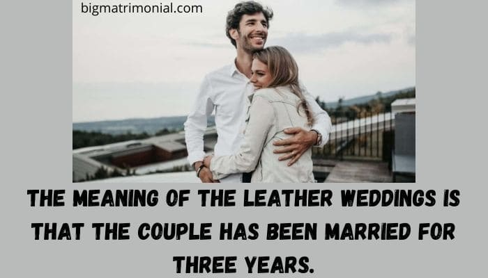 leather anniversary meaning
