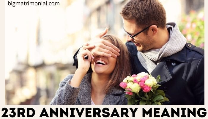 23rd anniversary meaning